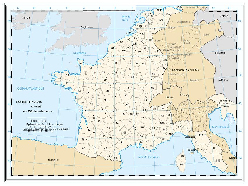 Frankreich Departements Karte.Klassische Philatelie Frankreich Was Sind Die Départements Conquis